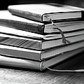 Stack Of Notebooks by FOTOGRAFIE melaniejoos