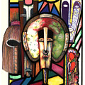 Stain Glass by Anthony Burks Sr