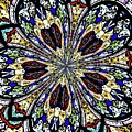 Stained Glass Kaleidoscope 38 by Rose Santuci-Sofranko