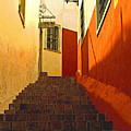 Stairway Guanajuato by Mexicolors Art Photography