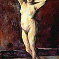 Standing Nude Woman by Cezanne