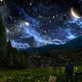 Starry Night Print by Alex Ruiz