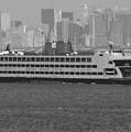 Staten Island Ferry Bw16 by Scott Kelley