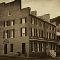 Stephensons Hotel - Harpers Ferry  West Virginia by Bill Cannon