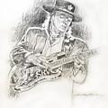 Stevie Ray Vaughan - Texas Twister by David Lloyd Glover