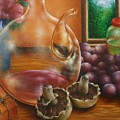 Still Life In Oil by Evelyn Sichrovsky