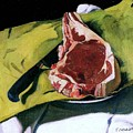 Still Life With Steak by Pg Reproductions