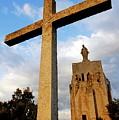 Stone Crucifix by Sami Sarkis