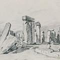 Stonehenge Wiltshire by John Constable