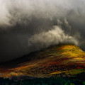 Storm Brewing Over Hawkshead by Meirion Matthias