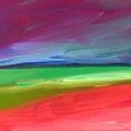 Storm Coming Over Lanikai by Angela Treat Lyon