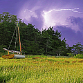 Storm Over Knott's Island by Charles Harden