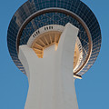 Stratosphere Tower Up Close by Andy Smy