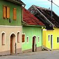 Street Of Wine Cellar Houses  by Mariola Bitner