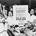 Striking Women Employees Of Woolworths by Everett
