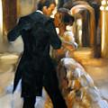Study For Last Dance 2 by Stuart Gilbert