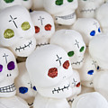 Sugar Skulls For Sale At The Day by Krista Rossow