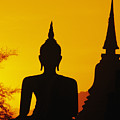 Sukhothai Temple by Gloria & Richard Maschmeyer - Printscapes