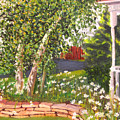 Summer Garden by Lea Novak