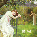 Sunday Afternoon - Ladies In A Garden by English School