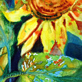 Sunflower Head 4 by Kathy Braud