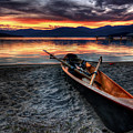 Sunrise Boat by Matt Hanson