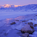 Sunrise Ice Reflection by Chad Dutson