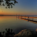 Sunrise Over Cayuga Lake by Everet Regal