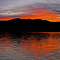 Sunset At Carter Lake Co by James Steele