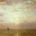 Sunset by Hendrik William Mesdag