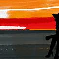 Sunset in Hamptons Print by Naxart Studio