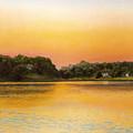 Sunset Lake by Joan Swanson