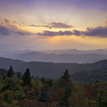 Sunset On The Blue Ridge Parkway by Rob Travis