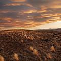 Sunset On The Ridge by James Steele