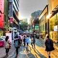 Sunset On The Streets Of Seoul by Michael Garyet