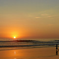 Sunset Over La Jolla Shores by Christine Till