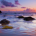 Sunset Ripples by Mike  Dawson