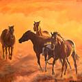 Sunset Run by Jana Goode