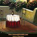 Sunset Table by Italian Art