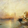 Sunset Venice by Thomas Moran