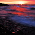 Superior Sunrise by Larry Ricker