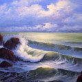 Surf Melody by Francine Henderson