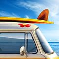 Surf Van by Carlos Caetano
