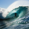 Surfer At Pipeline by Vince Cavataio - Printscapes
