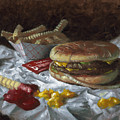 Suzy-q Double Cheeseburger by Timothy Jones