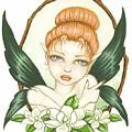 Sweet Magnolia Fae by Elaina  Wagner