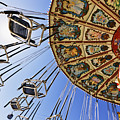 Swing Ride At The Fair by Jeremy Woodhouse