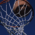 Swish.  A Basketball by Stacy Gold