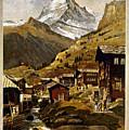 Swiss Travel Poster, 1898 by Granger