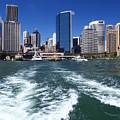 Sydney Circular Quay by Melanie Viola
